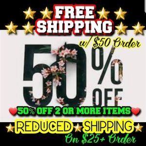 Other - 💖💥50% OFF 2+ 💎FREE💎or💥REDUCED SHIPPING💥💣💥